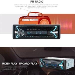 Image 3 - 1012 Kit de voiture sans fil multifonction Bluetooth véhicule lecteur MP3 U lecteur de disque 3.5mm AUX FM Radio Audio adaptateur chargeur de voiture