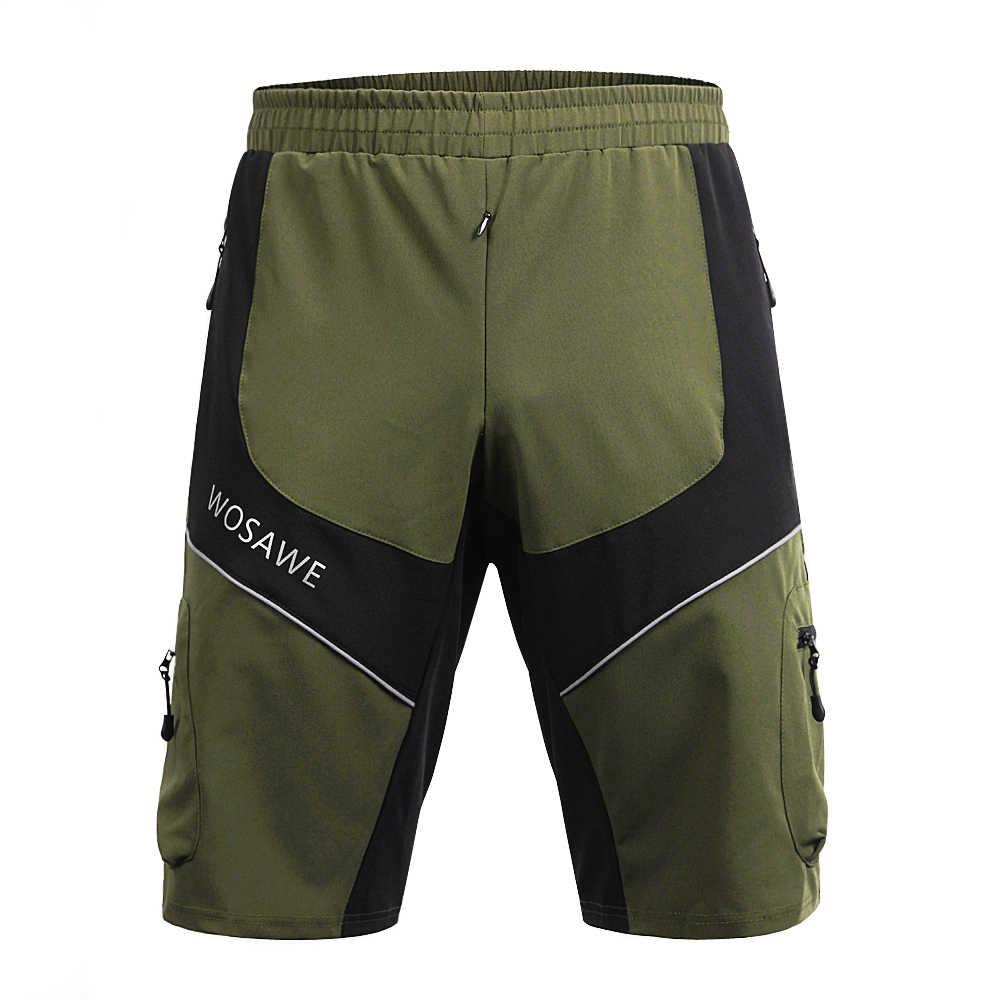 Pantalones cortos de bicicleta de montaña pantalones cortos de ciclismo para hombres pantalones para descenso de ciclo de secado rápido ropa de ciclismo bicicleta pantalones cortos Mtb