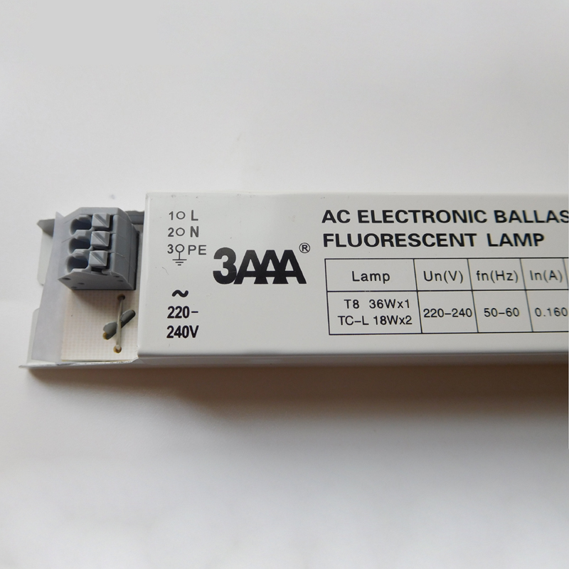 3AAA YZ-136EAA T8 36Wx1 TC-L 18WX2 AC Fluorescent Lamp Electronic Ballasts