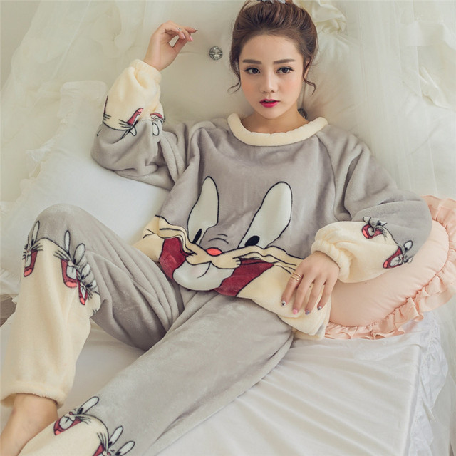 Winter Maternity Pajamas Home Clothes Sets Sleepwear for 1 2 3 4 5 6 Months Pregnant Women Clothing Postpartum Nightgown G314