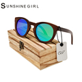 2016 Zebra Bamboo Sunglasses Blue Lens Bambu Sun Glasses Wood UV400 Zebra  Bamboo Sunglasses bamboo wood sunglasses with case
