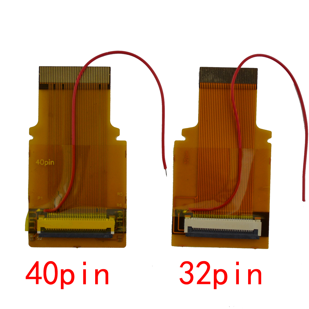 1pcs for GBA Ribbon Cable 32pin 40 Pin <font><b>AGS</b></font> <font><b>101</b></font> Backlit Adapter Screen Mod with cable image