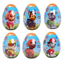 Original Paw Patrol Dog Fun Surprise Egg Nickelodeon Toy Random Gift Soft candy Cartoon Action Figure Model Child Birthday Gift цена и фото