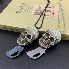 Multifunctional Mini Hanging Necklace Knife Protable Outdoor Camping Rescue Survival Tool
