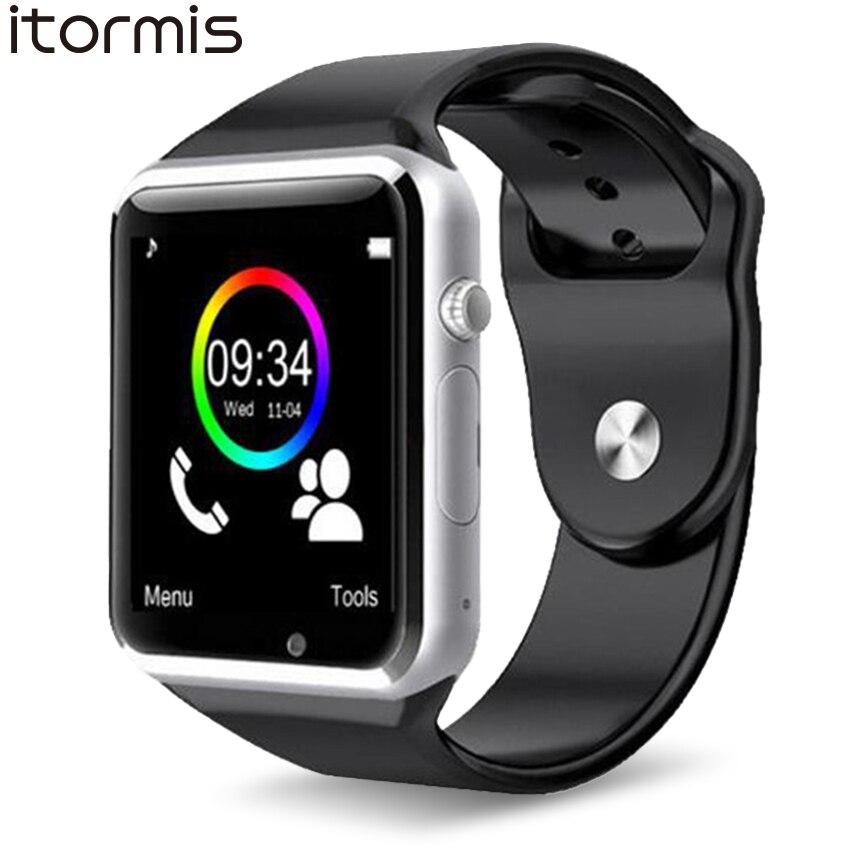 ITORMIS W31 Bluetooth Smart Uhren Smartwatch Clevere Watch Phone Sport Fitness Schrittzähler Tracker A1 für Android PK DZ09 GT08