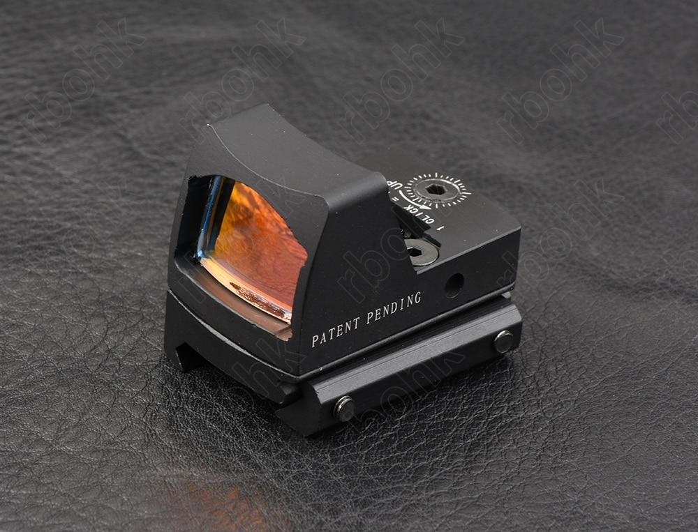 dot sight scope para picatinny ferroviário e glock base de montagem m9410