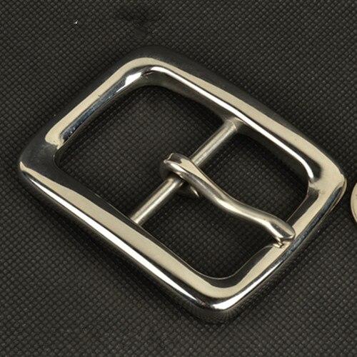 Мужская нержавеющей стали Пряжка на ремешке Mens Pin застежка пряжки на слово тип иглы бизнес голова Belt головы
