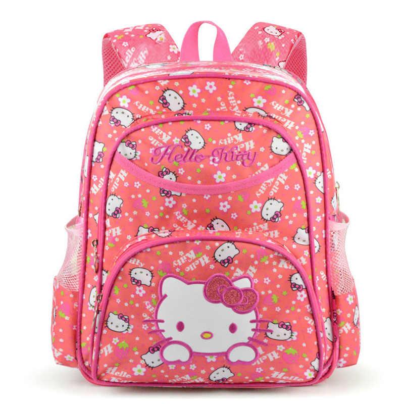 a851360d2cbd Hello kitty Детская сумка школьные рюкзаки для девочек детский Ранец детские  школьные сумки для детского сада
