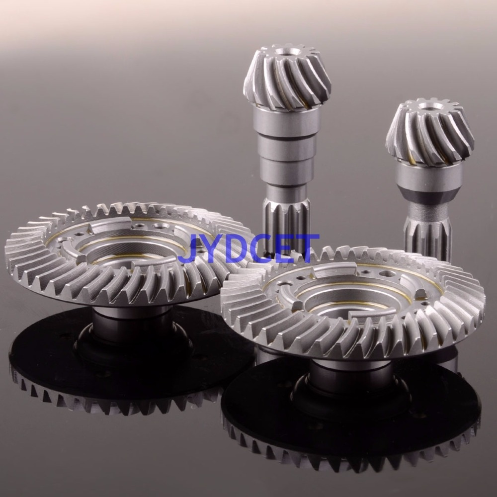 Front \ Rear Hard Steel Differential Ring/Pinion Gear Set For Traxxas X-Maxx 1/5 RC Car wltoys 12428 12423 1 12 rc car spare parts 12428 0091 12428 0133 front rear diff gear differential gear complete