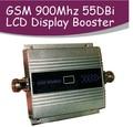 Pantalla LCD de La Familia Mini GSM 900 MHz Señal Del Teléfono Móvil GSM Repetidor de la Señal Del Teléfono Celular Amplificador + Adaptador de Corriente