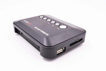 REDAMIGO  Mini Full HD1080p H.264 MKV HDD HDMI Media Player Center with HDMI/AV/VGA/USB/SD/MMC with Remote controller HDDK3 проектор other 1200lumens hdmi av usb vga uc30