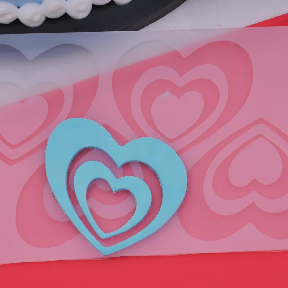 Горячие DIY 3D Любовь Сердце силиконовые формы шоколада формы для выпечки на день рождения торт печенье украшения инструменты шоколадная форма трафарет Маффин Пан