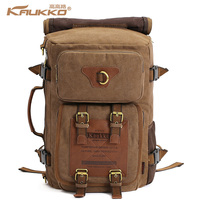 Kaukko 2015 New Fashion Canvas Backpack Bag Men S Backpacks Travel Hiking Camping Men S Travel