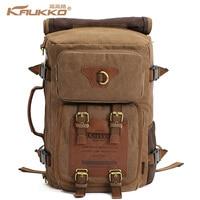 Kaukko 2015 New Fashion Canvas Backpack Bag Men S Backpacks Travel Hiking Camping Men S Travel