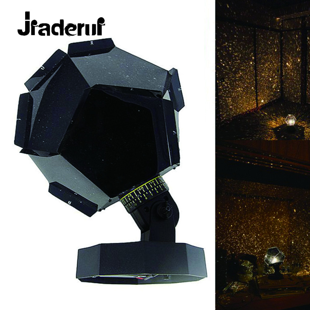 Jiaderui Novelty LED Planetarium Sky Star Celestial Projector Night Light Romantic Room Party Decoration Creative Popular Lights