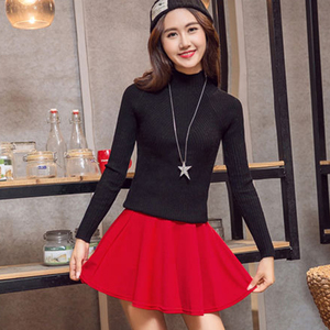 Image 5 - Dicloud Thời Trang 2019 Cao Cấp Váy Nữ Bông Tai Kẹp Mỏng Plus Kích Thước Váy Nữ Co Giãn Cổ Váy Mùa Hè