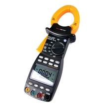MS2203 3-phasen Digitale Strommesszange Leistungsfaktorkorrektur Multimeter für AC Spannung Strom Blindleistung Frequenz
