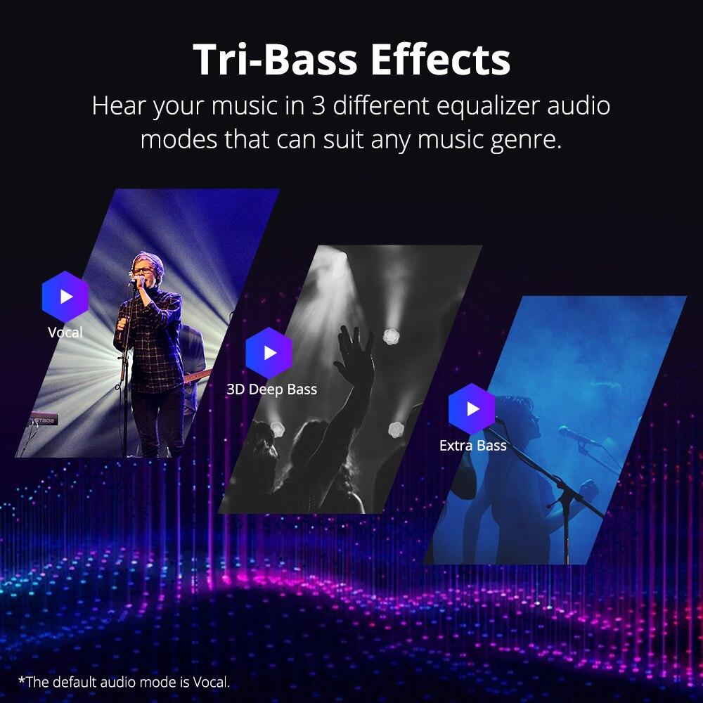 Tronsmart T6 Plus Bluetooth Speaker 40W Portable Speaker Deep Bass Soundbar with IPX6 Waterproof, Power Bank Function SoundPulse 5