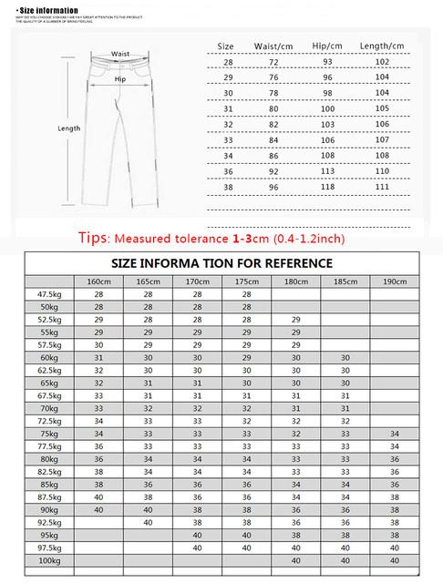 Men's Skinny Jeans Slim Denim Stretch Pencil Pants Jeans Blue Sex Men's Fashion Casual Designers Slim Fit Jeans Trousers