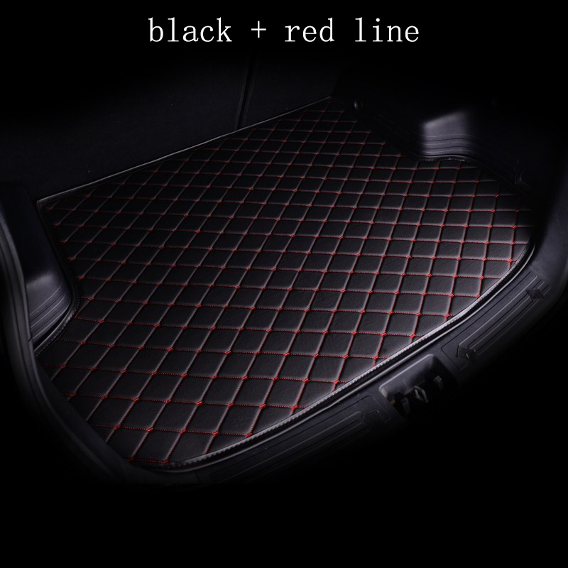 Kalaisike Custom Car Mat Trunk For Mitsubishi All Models Asx Outlander Lancer 10 Pajero Sport Car Accessories Custom Cargo Liner