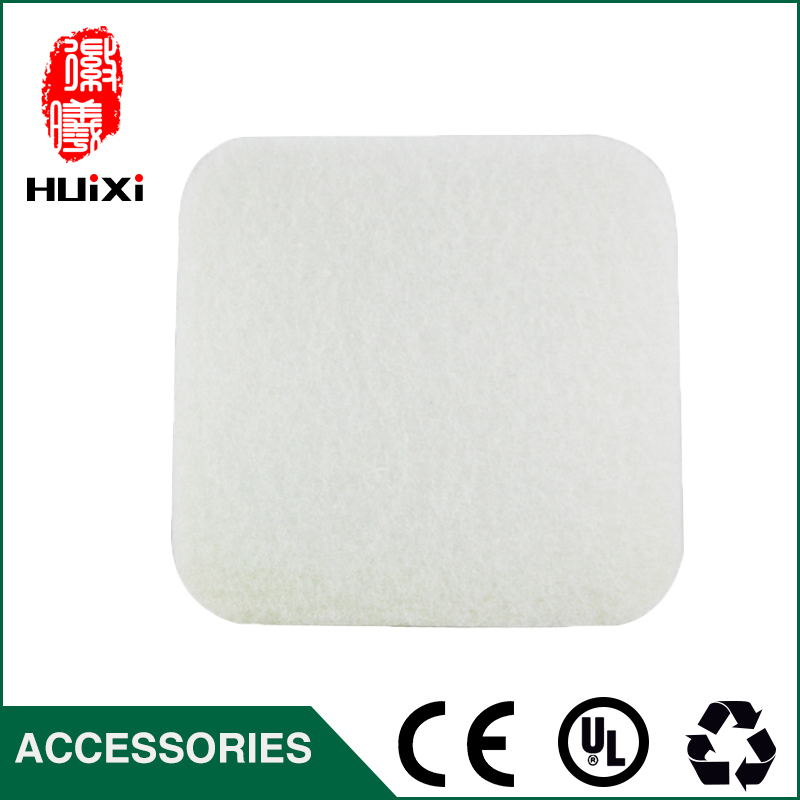 2PCS  Microfiber cloth filter of  Vacuum Cleaner Accessories and parts  Vacuum Cleaner for FC8222  FC8224  FC8220 long uv lamp of wp601 accessories of vacuum cleaner