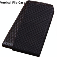 LJ15 Genuine Leather Flip Phone Case For Asus Zenfone 2 Laser ZE601KL Vertical flip Phone Up and Down Leather Cover phone Case