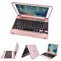 New ABS Coque for iPad 2018 9.7 Keyboard Case A1895 A1954 Bluetooth Wireless Keyboard Case for iPad 9.7 2018 Case with Keyboard