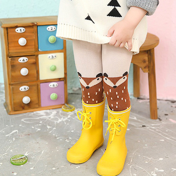 2019 New Autumn Fox Baby Girl Tights - 0-5 Years