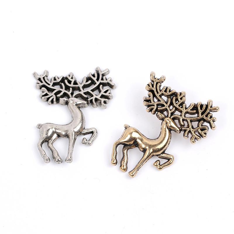 deer brooch pins