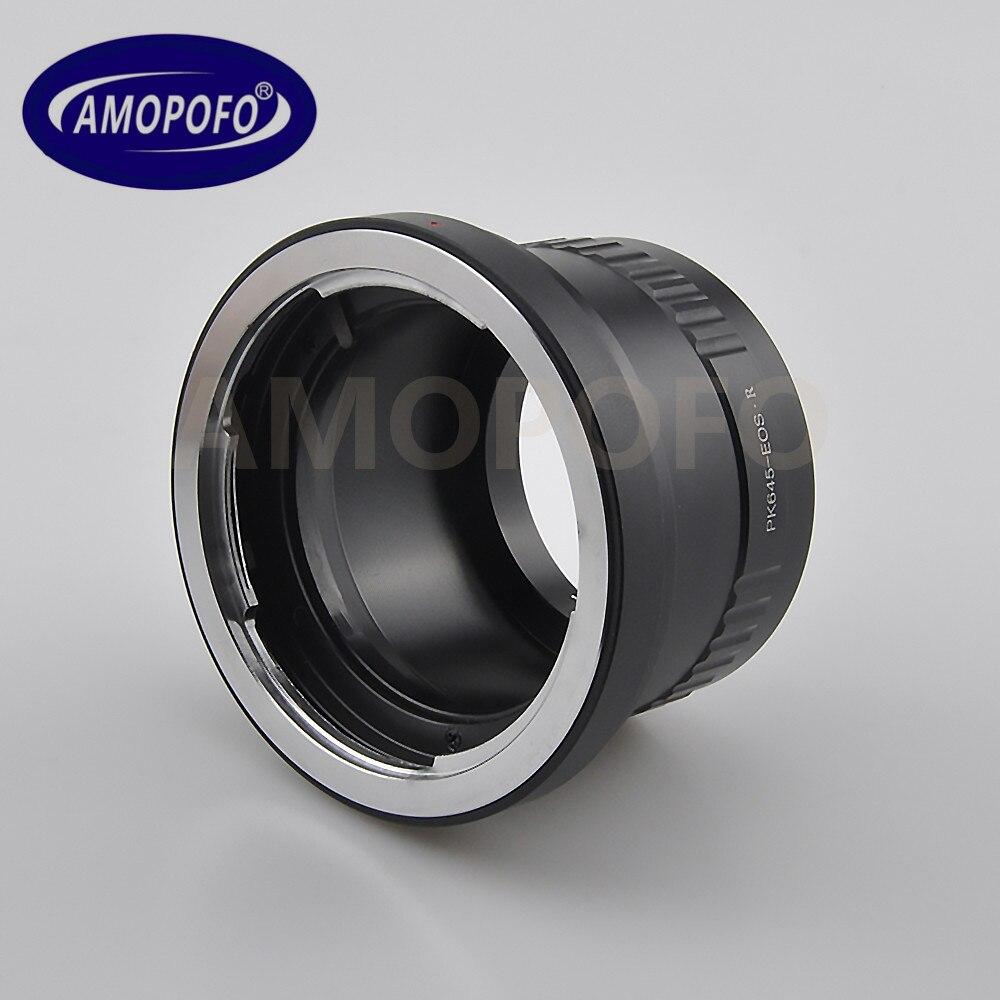 PK645-EF R adaptateur Penatx 645 monture objectif pour Canon EOS R caméra complète célèbre
