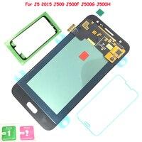 FIX2SAILING Super AMOLED For Samsung Galaxy J5 2015 J500 J500F J500FN J500H J500M LCD Display Touch