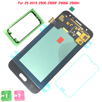 FIX2SAILING Super AMOLED For Samsung Galaxy J5 2015 J500 J500F J500FN J500H J500M LCD Display Touch