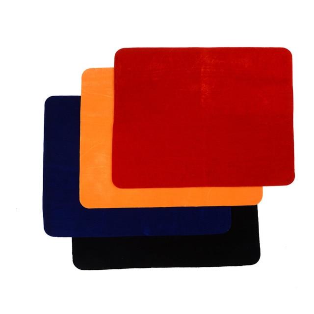Professionnel Carte Tapis Noir Rouge Bleu Jaune Standard Taille 42