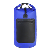 Waterproof Dry Bag Heavy Duty Roll-Top Closure For Beach Rafting Boating Hiking Camping Fishing Outdoor Running Backpack 45L