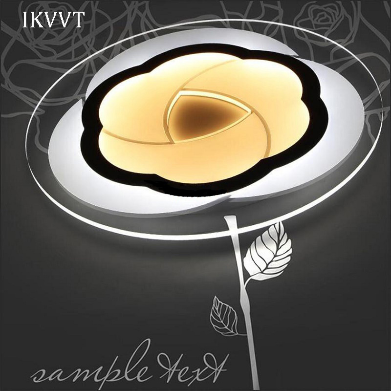 ceiling lighting Super thin Modern Acrylic LED ceiling light for mounted bedroom dinning room indoor ceiling lamp