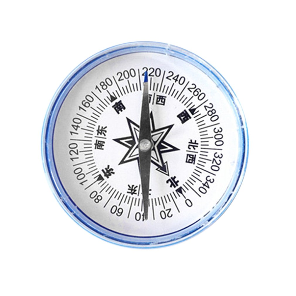 Professional Portable Compass 100mm Large Hand-held Compass For Outdoor Teaching Camping Hiking Navigation Military