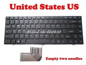 "Image 2 - ארה""ב RU מקלדת עבור Jumper עבור EZbook X4 K621US JM300 2 YJ 485 אנגלית PRIDE K2790 343000075 רוסית"