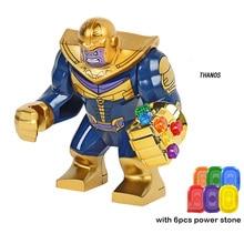 Süper kahramanlar legoeinglys Avengers Infinity savaş Infinity dayağı demir adam Thanos Thor yapı taşları setleri rakamlar oyuncak hobiler