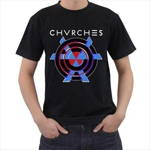 Gildan CHVRCHES Electronic Band Mens Gildan Tshirt tee T shirt 100% cotton S - 3XL