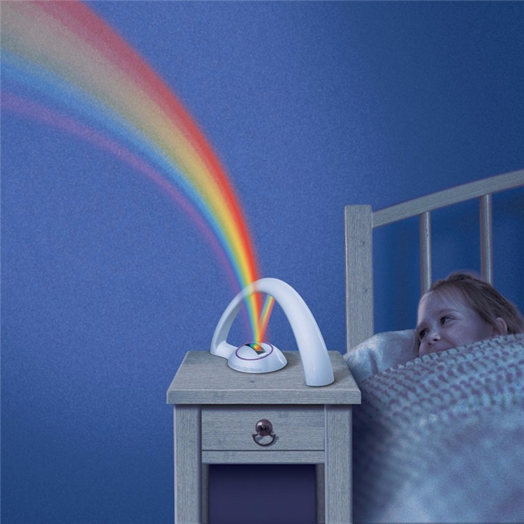 Fashion-Rainbow-Light-for-child-girls-LED-rainbow-light-Projector-Romantic-Projection-Lamp-night-Light-Atmosphere