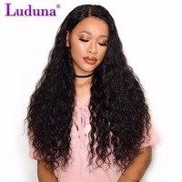 Malaysian Curly Hair 1 Piece Water Wave No Remy Hair Human Hair Bundles Natural Black 100g