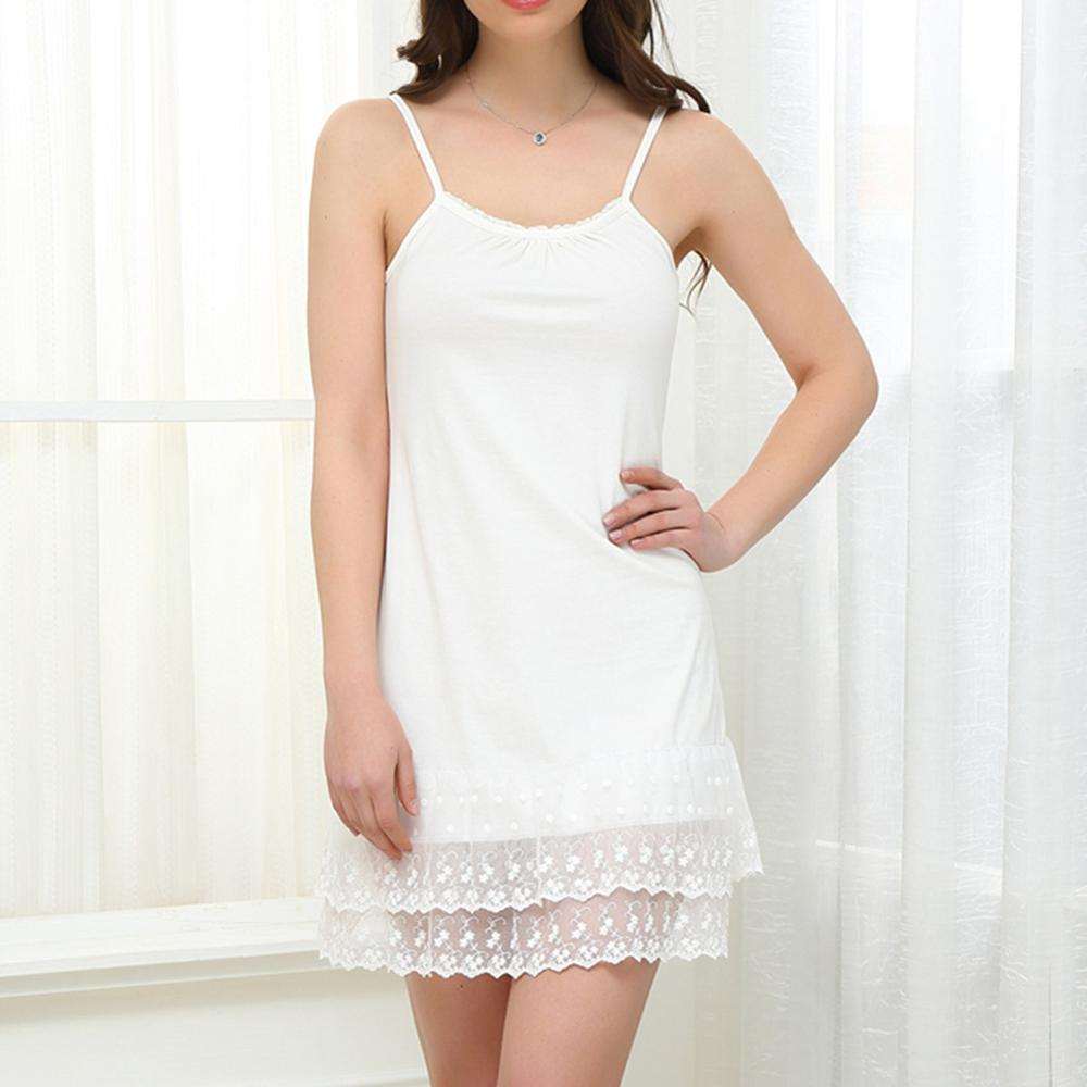 Women Maternity Sleepwear Summer Dress Female Lace Sexy Chemise Tunic Cotton Plus Size 3XL   Nightgown   Chemise   Sleepshirts
