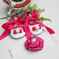 Boutique baby moccasins toddler;first walker brand designer baby girl shoes headband set;newborn baby girls shoes christening