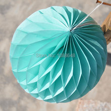 8 20cm Hanging Honeycomb Lanterns Wedding Christmas Decoration Supplies Tissue Paper Balls Flower Free Shipping