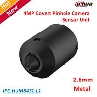 Dahua IPC HUM8431 L1 4MP Covert Pinhole Network Camera Sensor Unit 2 8mm Fixed Pinhole Lens