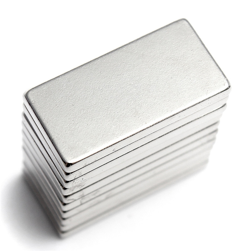 free shiping 6Pcs N35 20*10*2 Super Strong Neodymium Magnet Block Cuboid Rare Earth Magnets N35 20 x 10 x 2mm qs 3mm216a diy 3mm round neodymium magnets golden 216 pcs