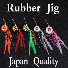 Япония качество Lurekiller резиновые блесна, приманка, Тай Kabura слайдер приспособлений, ведущая рыбу 45/60/80/100/120/150/180 г морской морская наживка