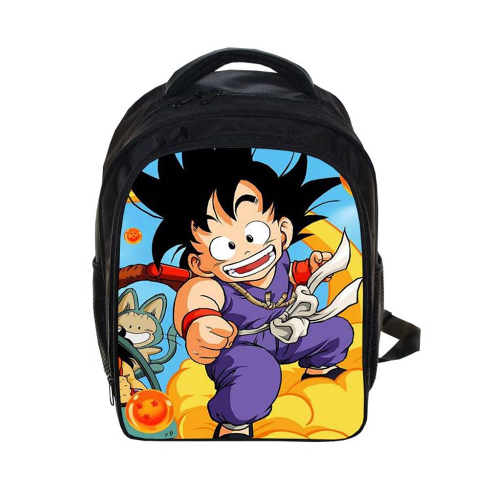 New Dragon Ball print Backpack Students School Bag For Girls Boys Rucksack mochila children Backpack customize Halloween gift spain backpack kids children foot ball star backpacks for boys school bagpack girls youth rucksack student mochila bags