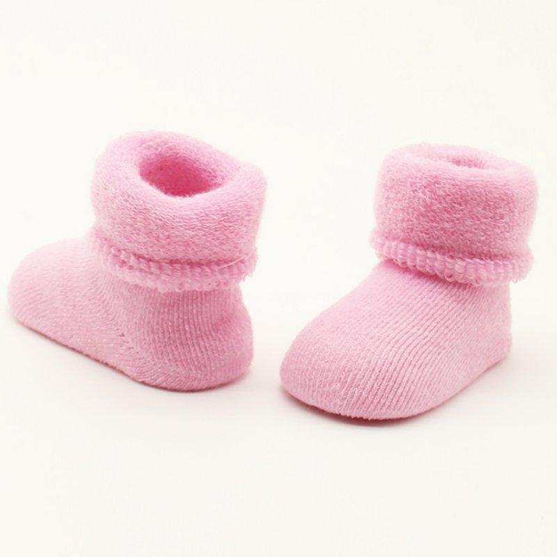 Baby Sock 0-2Y Baby Girls Boys Newborn Infant Winter Warm Boots Soft Cotton Socks Booties