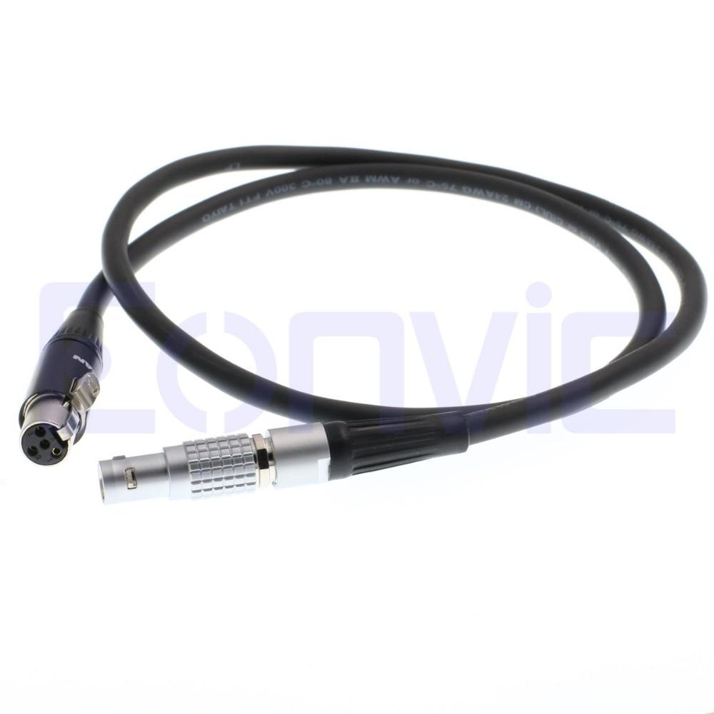 small resolution of eonvic 2 pin lemo to 4 pin mini xlr tvlogic vfm 5 5 and 5 6 monitor power cable